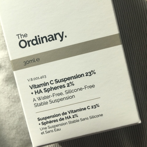 The Ordinary Vitamin C Suspension 23% and HA Spheres 2%